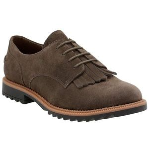 Clarks Griffin Mabel Oxford Shoes Size 8
